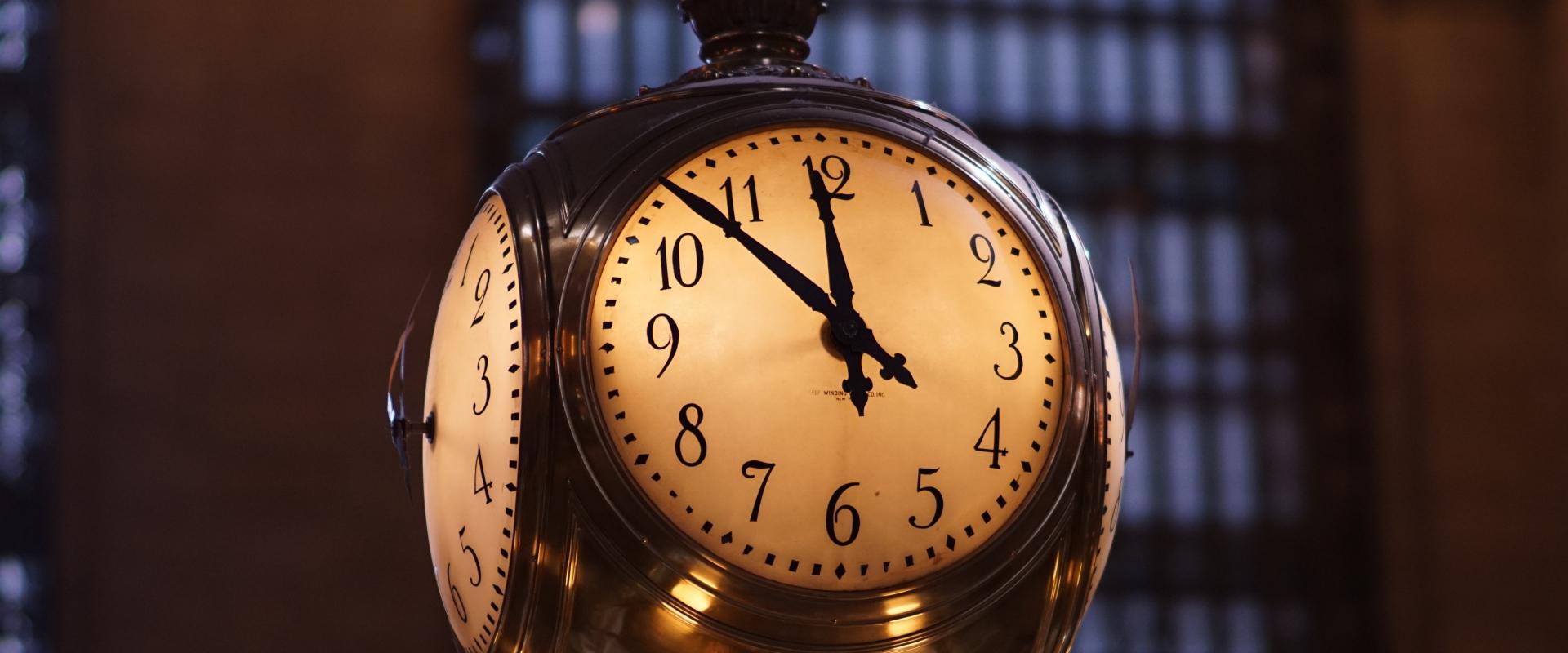 Changement d'heure et sommeil